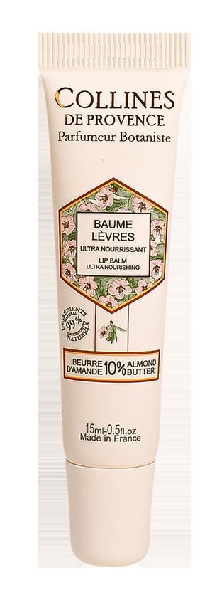 Baume Lèvres Beurre d'Amande Collines de Provence