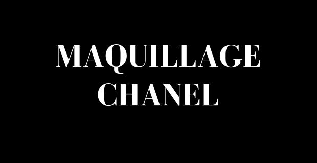 Petits formats de Chanel