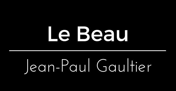 Le Beau de Jean-Paul Gaultier