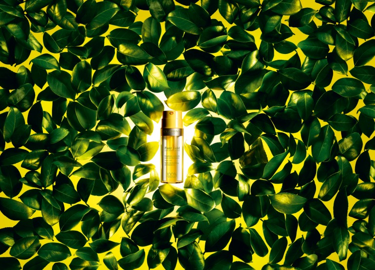 Clarins Ligne Aromaphytosoin Plant Gold L'Or des Plantes ©Clarins