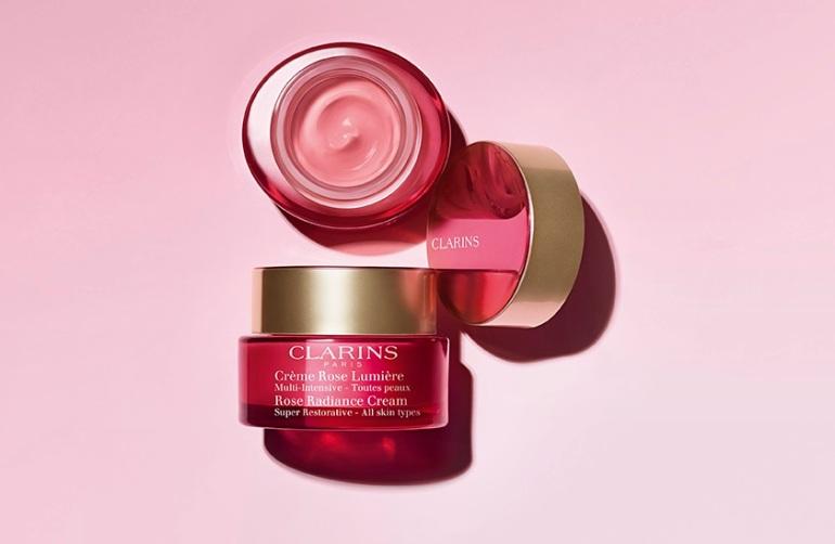 Crème Rose Lumière © Clarins