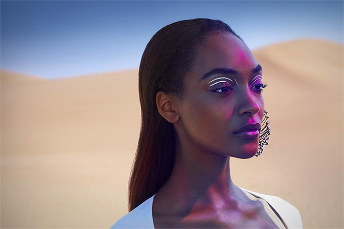 Jourdan Dunn Alien de Mugler
