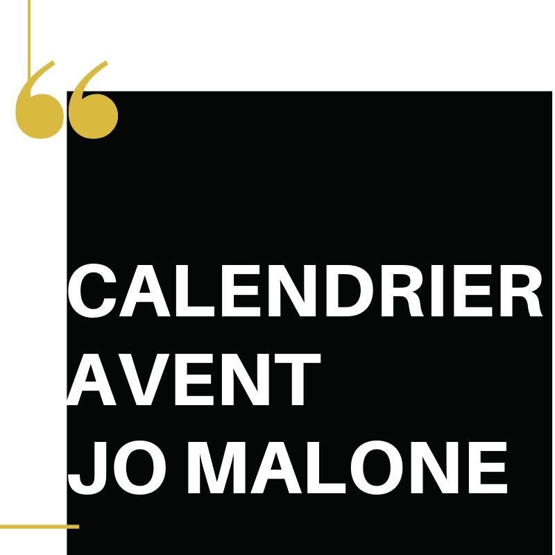 Calendrier avent Jo Malone