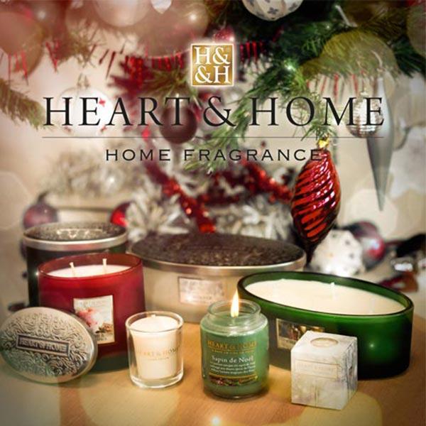 Bougies Heart & Home