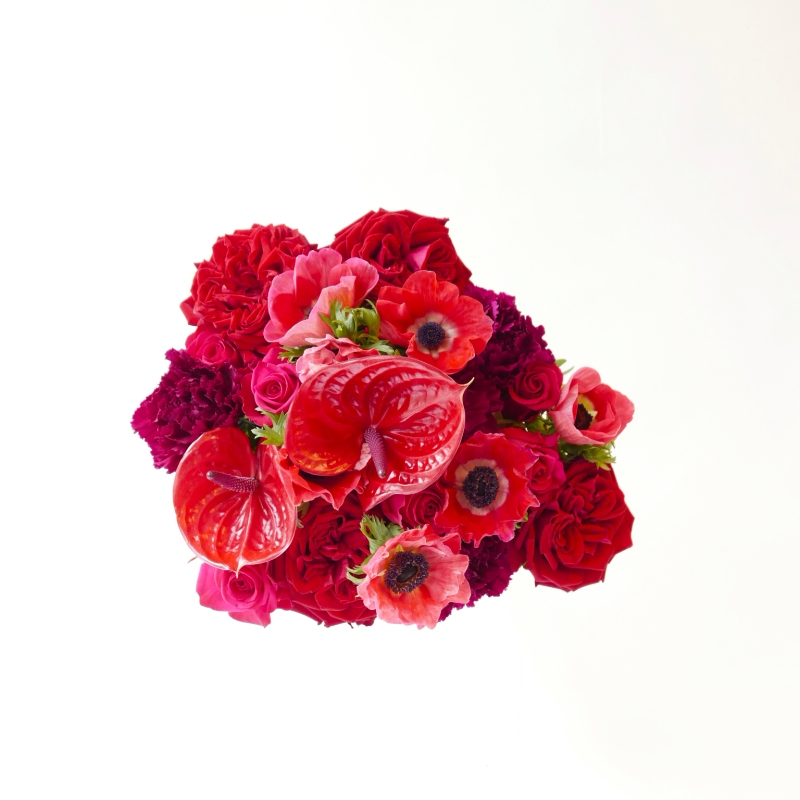 Au nom de la rose x Flower by Kenzo Poppy Bouquet