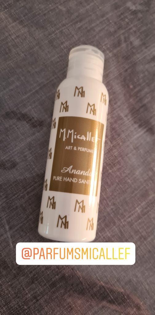 Ananda Pure Gel Hand de M Micallef