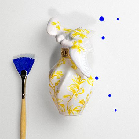 L'Air du Temps de Nina Ricci x Antoinette Poisson